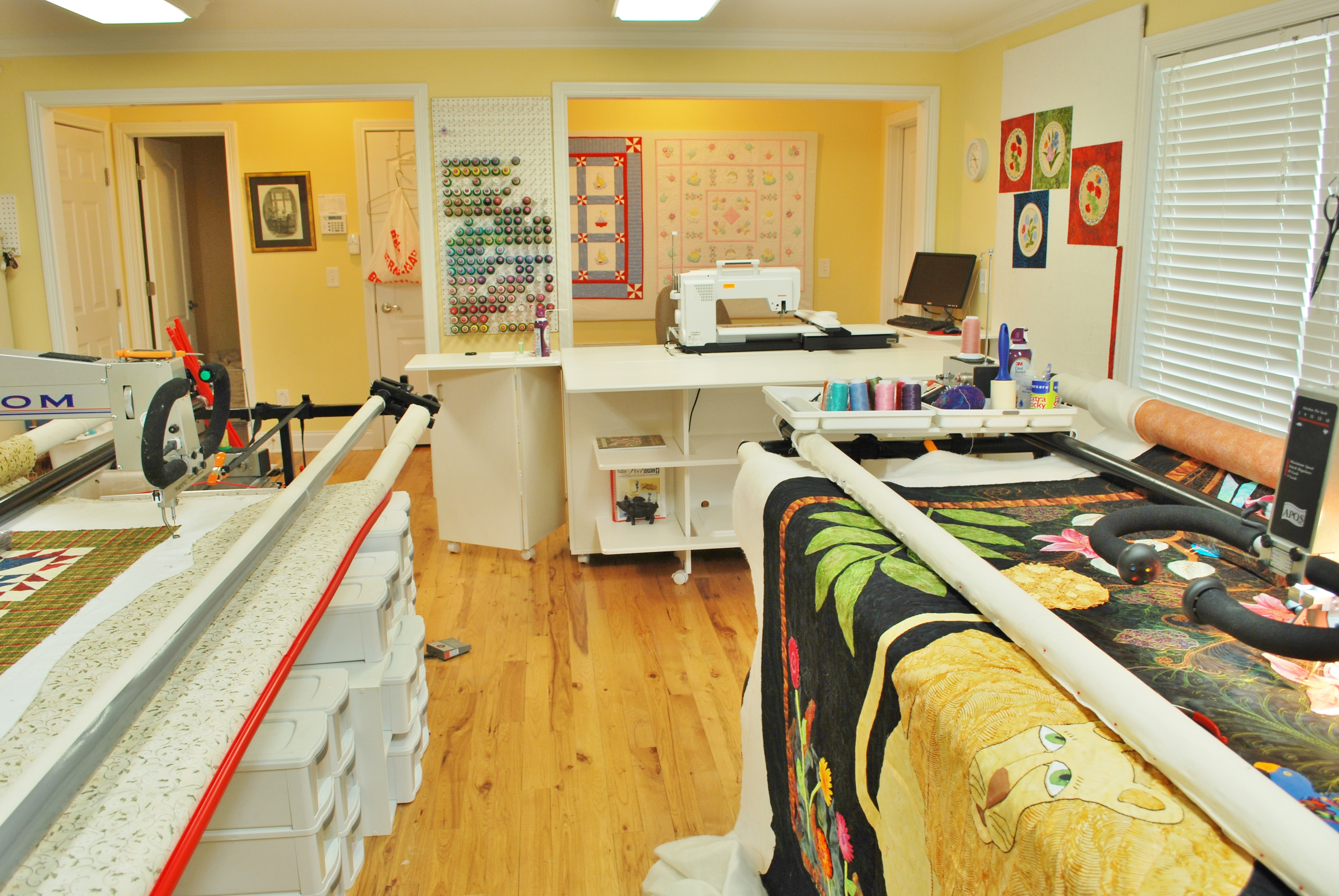 1000 Images About Quilt Room Ideas On Pinterest Sewing