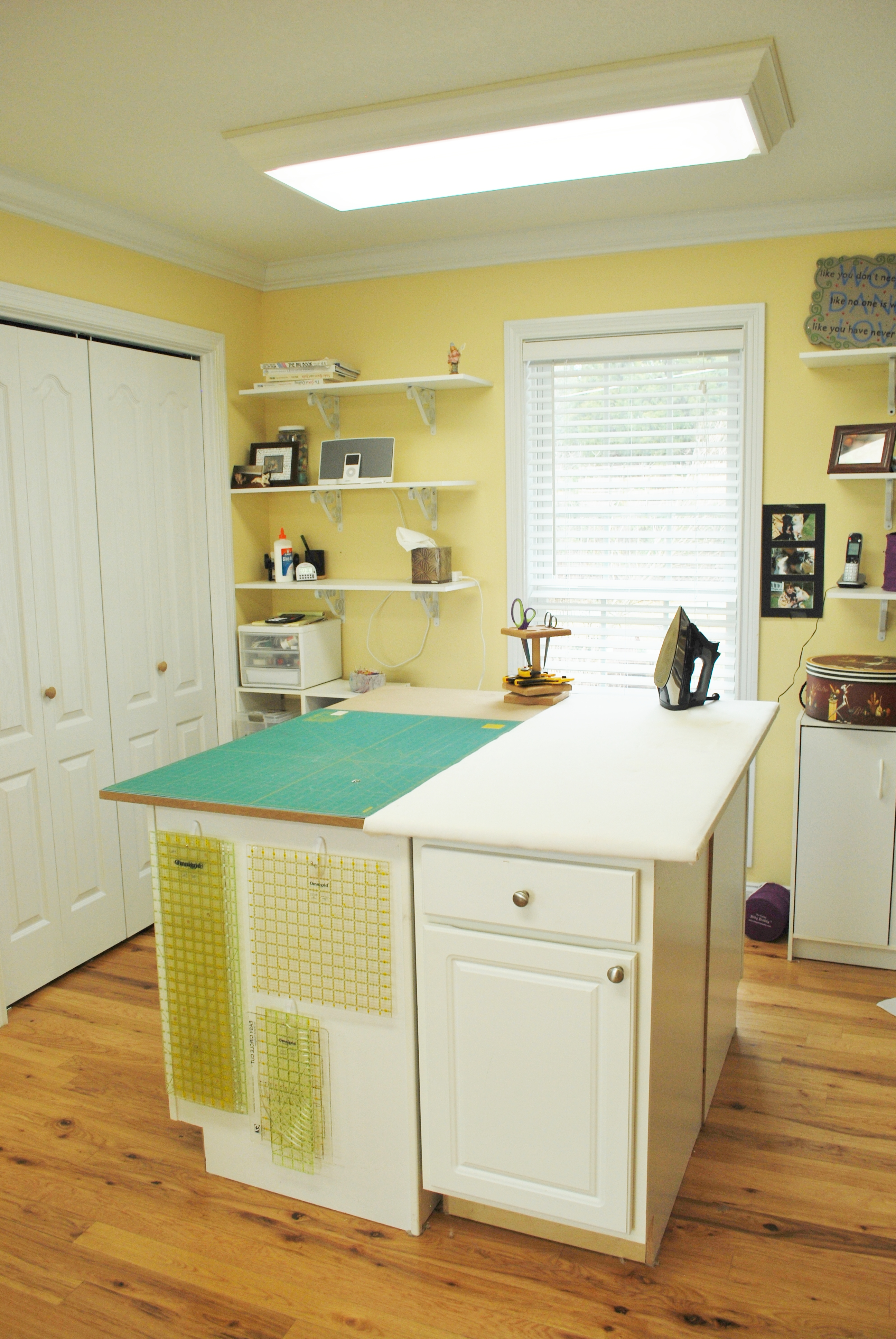 Ironing Table, Quilting Room, Room Ideas, Sewing Rooms ...